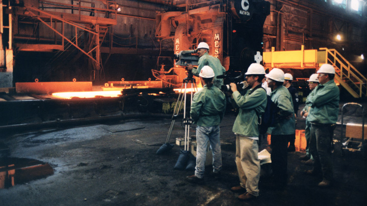 behind the scenes steel factory for pittsburgh's big picture