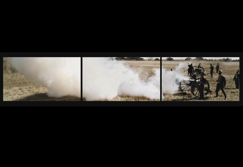 three screen jean lafitte cannon fire