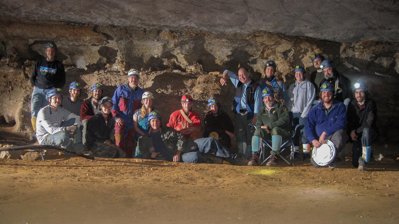crew in mammoth cave